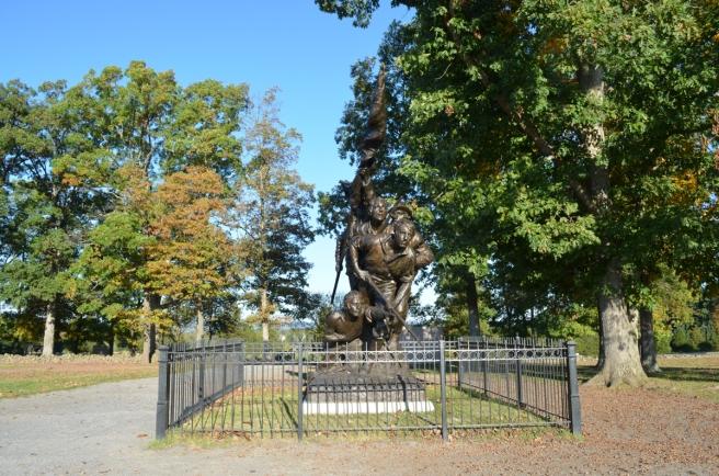 North Carolina State Monument  Gettysburg October 2014
